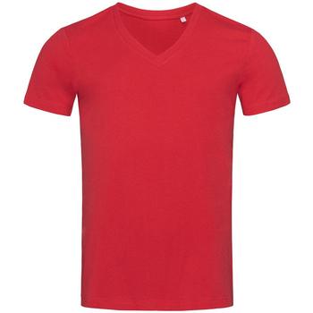 Textiel Heren T-shirts korte mouwen Stedman Stars  Rood