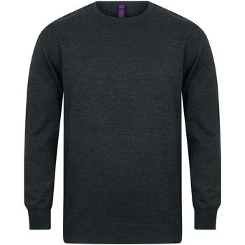 Textiel Heren Sweaters / Sweatshirts Henbury Gauge Grijze Mergel