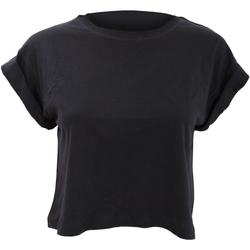 Textiel Dames T-shirts korte mouwen Mantis M96 Zwart