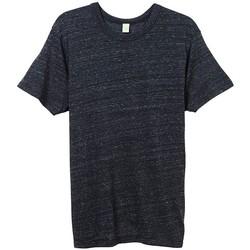 Textiel Heren T-shirts korte mouwen Alternative Apparel AT001 Eco Zwart