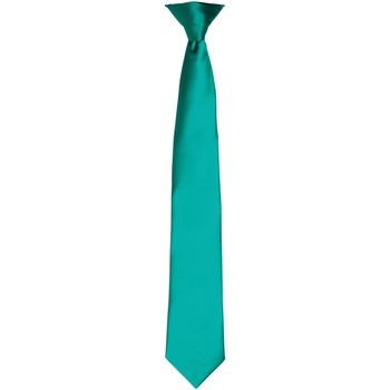 Textiel Heren Stropdassen en accessoires Premier PR755 Smaragd