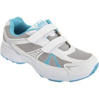 Schoenen Dames Lage sneakers Dek  Wit/blauw