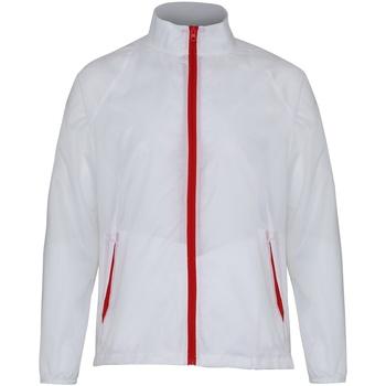 Textiel Heren Windjack 2786 TS011 Wit/rood