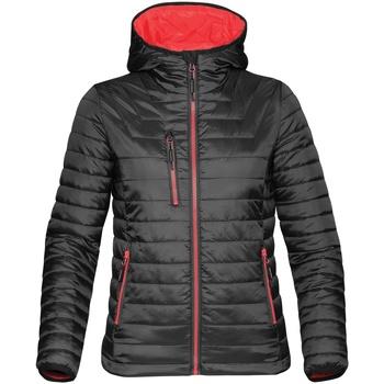 Textiel Dames Dons gevoerde jassen Stormtech ST804 Zwart / Echt rood