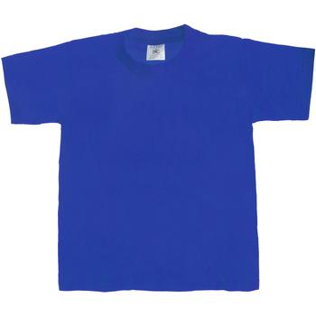 Textiel Kinderen T-shirts korte mouwen B And C TK301 Koninklijk