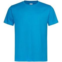 Textiel Heren T-shirts korte mouwen Stedman  Marineblauw