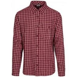 Textiel Heren Overhemden lange mouwen Trespass  Pruimtest