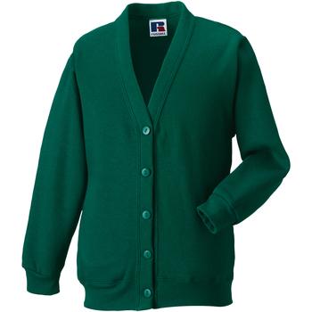 Textiel Kinderen Vesten / Cardigans Jerzees Schoolgear 273B Fles groen