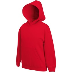 Textiel Kinderen Sweaters / Sweatshirts Fruit Of The Loom SS873 Rood