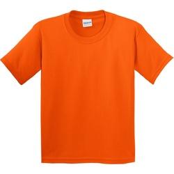 Textiel Kinderen T-shirts korte mouwen Gildan 5000B Oranje