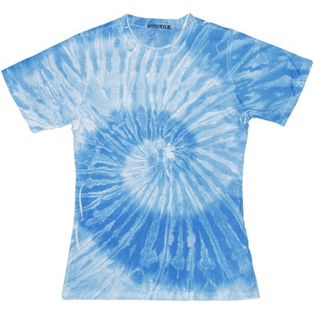 Textiel Dames T-shirts korte mouwen Colortone TD20M Spider Royal