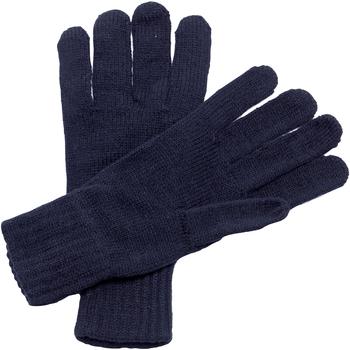 Accessoires Heren Handschoenen Regatta  Navy