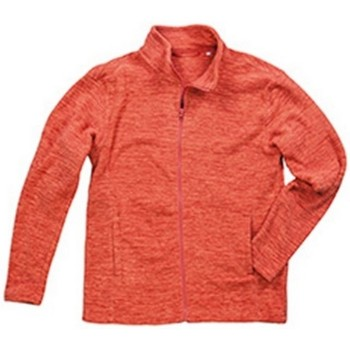 Textiel Heren Fleece Stedman  Pompoenmelange