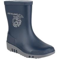 Schoenen Kinderen Regenlaarzen Dunlop Elephant Blauw/Grijs