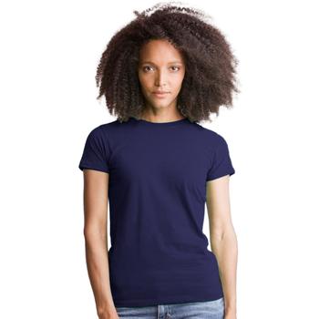 Textiel Dames T-shirts & Polo's Mantis M69 Donkere marine