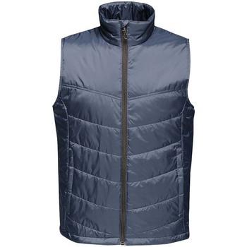 Textiel Heren Dons gevoerde jassen Regatta RG113 Marine
