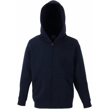 Textiel Kinderen Sweaters / Sweatshirts Fruit Of The Loom SS825 Donker Marine