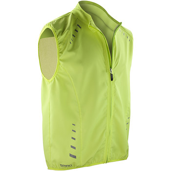 Textiel Heren Trainings jassen Spiro S259X Neon Lime