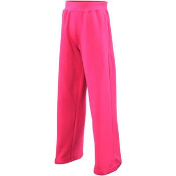 Textiel Meisjes Trainingsbroeken Awdis  Heet Roze