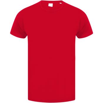 Textiel Kinderen T-shirts korte mouwen Skinni Fit SM121 Helder rood