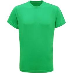 Textiel Heren T-shirts korte mouwen Tridri TR010 Heldere Kelly