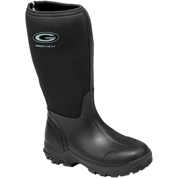 Schoenen Dames Regenlaarzen Grubs Boots  Zwart