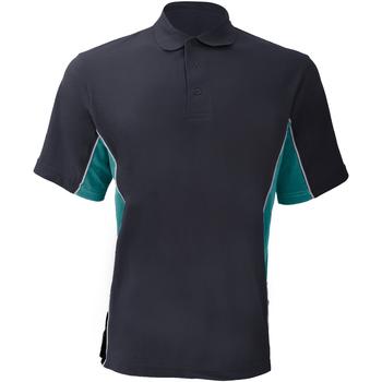 Textiel Heren Polo's korte mouwen Gamegear KK475 Marine / Turkoois