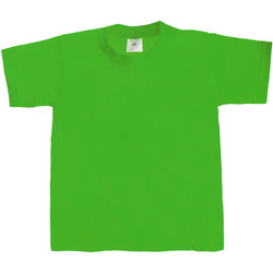 Textiel Kinderen T-shirts korte mouwen B And C TK301 Kelly Groen