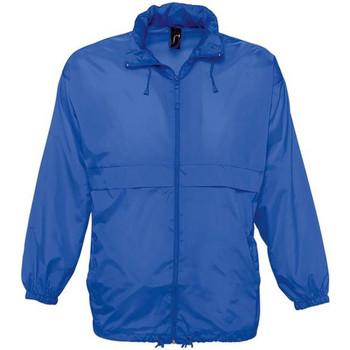 Textiel Windjack Sols Surf Koningsblauw