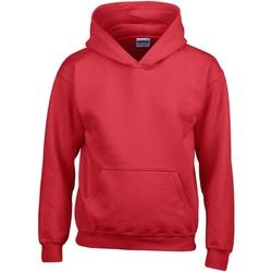 Textiel Kinderen Sweaters / Sweatshirts Gildan 18500B Rood