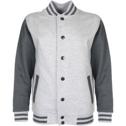 Textiel Kinderen Wind jackets Fdm FV002 Heide Grijs/Hartkolen