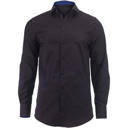 Textiel Heren Overhemden lange mouwen Alexandra Hospitality Zwart / Koninklijk