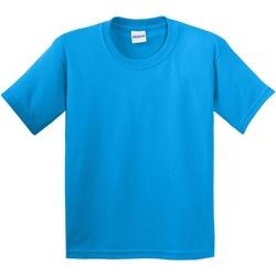 Textiel Kinderen T-shirts korte mouwen Gildan 64000B Saphire