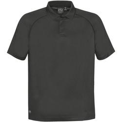 Textiel Heren Polo's korte mouwen Stormtech GPX-4 Koolstof/zwart