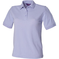 Textiel Dames Polo's korte mouwen Henbury HB401 Lavendel