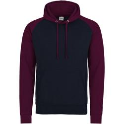 Textiel Heren Sweaters / Sweatshirts Awdis JH009 Marine Oxford/Burgondië