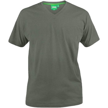 Textiel Heren T-shirts korte mouwen Duke  Khaki