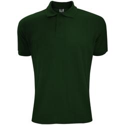 Textiel Heren Polo's korte mouwen Sg Polycotton Fles groen
