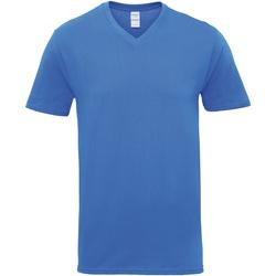 Textiel Heren T-shirts korte mouwen Gildan GD016 Koninklijk