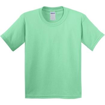 Textiel Kinderen T-shirts korte mouwen Gildan 5000B Muntgroen