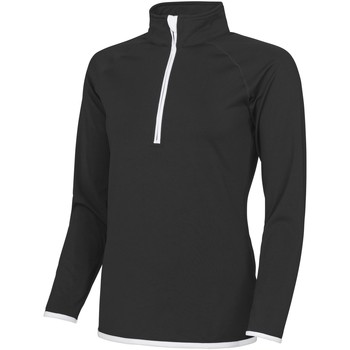 Textiel Dames Sweaters / Sweatshirts Awdis JC036 Jet Zwart / Arctisch Wit