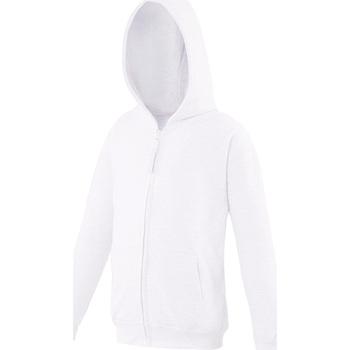 Textiel Kinderen Sweaters / Sweatshirts Awdis JH50J Arctisch Wit