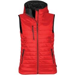 Textiel Dames Dons gevoerde jassen Stormtech PFV-2W Echt rood/ zwart