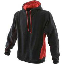 Textiel Heren Sweaters / Sweatshirts Finden & Hales LV335 Zwart/Rood