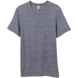 Textiel Heren T-shirts korte mouwen Alternative Apparel AT001 Eco-Marine