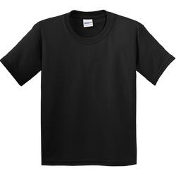 Textiel Kinderen T-shirts korte mouwen Gildan 5000B Zwart