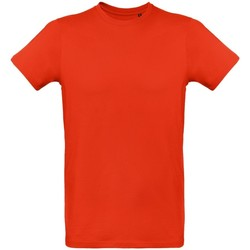 Textiel Heren T-shirts korte mouwen B And C TM048 Rood