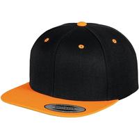 Accessoires Pet Yupoong YP002 Zwart/ Neon Oranje