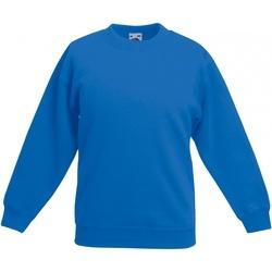 Textiel Kinderen Sweaters / Sweatshirts Fruit Of The Loom SS801 Royaal Blauw