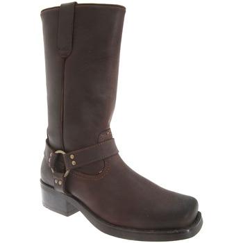 Schoenen Heren Hoge laarzen Woodland Harley Donkerbruin